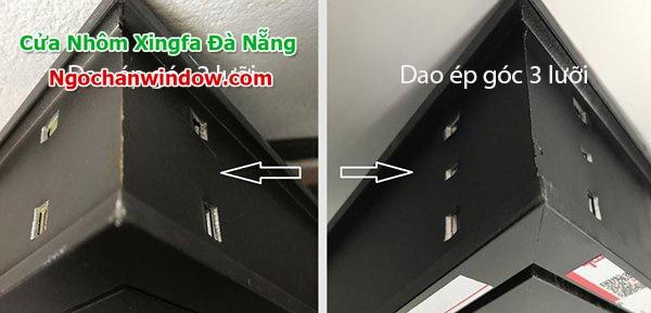 Ép góc cửa nhôm Xingfa