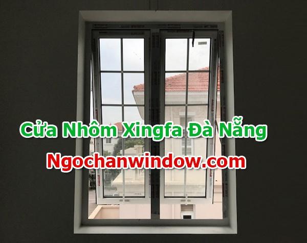 Cửa nhôm Xingfa màu trắng sứ đẹp